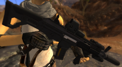 Fallout NV — LK-05 | Fallout New Vegas моды