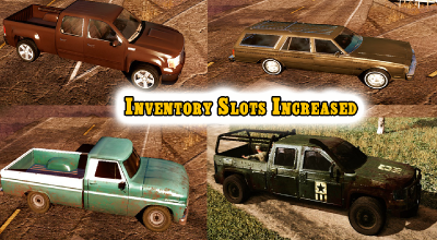 State of Decay — Реалистичная вместимость багажников (Realistic 'Rucks In Trucks' Mod) | State of Decay моды