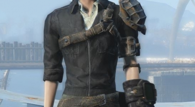 Fallout 4 — Ретекстур Брони Келлога (4K Cleaner Kellogg's Armour Retexture) | Fallout 4 моды