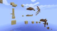 Minecraft 1.3.2 / 1.3.1 — Экстремальная паркур карта (SSP/SMP)