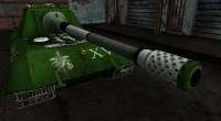 World Of Tanks — Jagdpanzer E-100 в стиле Last Exile Battleship | World Of Tanks моды