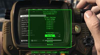 Fallout 4 — Менеджер горячих клавиш | Fallout 4 моды
