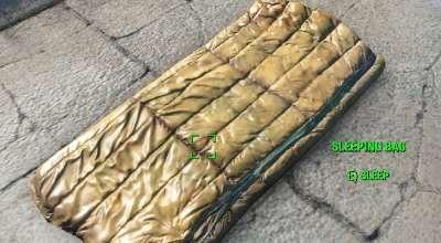 Fallout 4 — Портативный спальный мешок | Fallout 4 моды