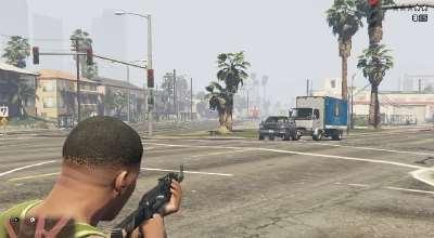 GTA 5 — НПЦ не покидают свои машины (Civilians Won't Leave Cars Anymore) | GTA 5 моды
