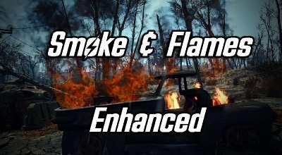 Fallout 4 — Улучшенные эффекты огня и дыма | Fallout 4 моды