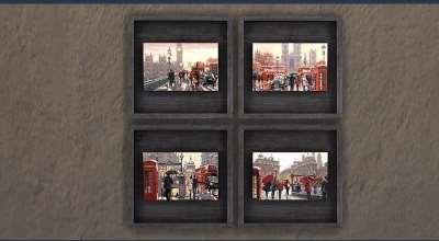 Sims 4 — 4 новые картины (Union Jack Paintings) | The Sims 4 моды