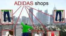 GTA IV — Одежда от Adidas   GTA 4 моды