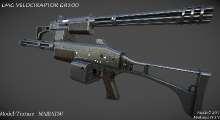 Fallout NV — LMG VelociRaptor GR500 | Fallout New Vegas моды