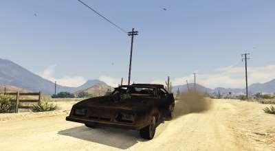 GTA 5 — Машина из Безумного Макса (Mad Max Interceptor) | GTA 5 моды