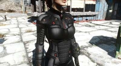 Fallout 4 — Нанокостюм | Fallout 4 моды