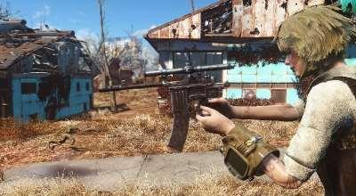 Fallout 4 — Маузер | Fallout 4 моды