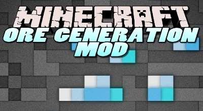 Мод для настройки генерации руды в Майнкрафт 1.10.2/1.7.10 | Minecraft моды