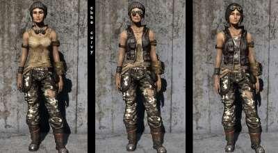 Falout 4 — Одежда путешественника — CBBE — BodySlide | Fallout 4 моды