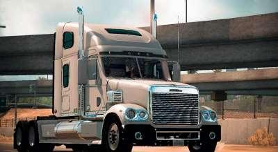 ATS — Новый тягач Freightliner Coronado | American Truck Simulator моды