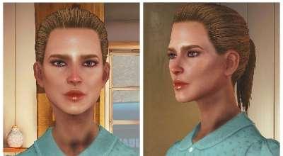 Fallout 4 — «Молодые» текстуры лиц для девушек   Fallout 4 моды