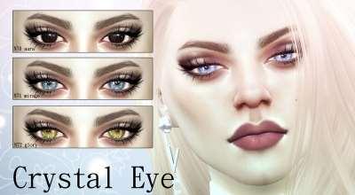 Sims 4 — Кристальные глаза | The Sims 4 моды