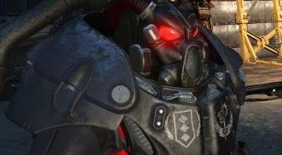 Fallout 4 — Раскраска Братства Стали для X-01 (Standalone X-01 Brotherhood of Steel Power Armor Paint Set)   Fallout 4 моды