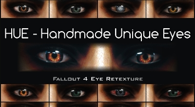 Fallout 4 — Уникальные глаза | Fallout 4 моды