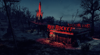 Fallout 4 — Дом для игрока в гараже «Красная ракета» | Fallout 4 моды