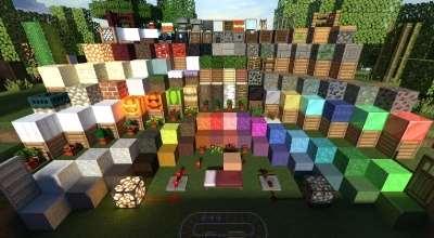 Minecraft — Equanimity [32x] [1.8.x/1.7.x/1.6.x] | Minecraft моды