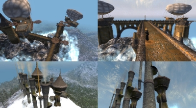 Oblivion — Двемерские руины и подземный город-завод Arkshtrumz [RUS] | Oblivion моды