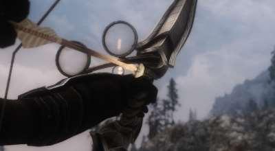 Skyrim — HD Стрел кровавого проклятия и солнечная эльфийская стрела | Skyrim моды