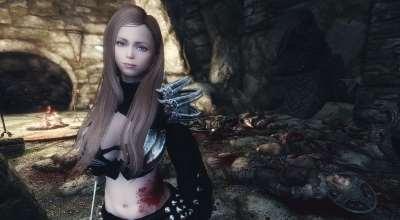 Skyrim — Новая спутница Агриса   Skyrim моды