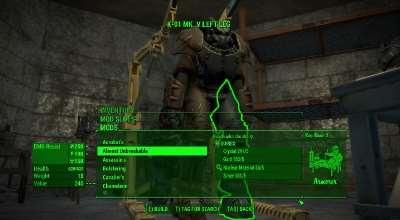 Fallout 4 — Крафт легендарных модификаций | Fallout 4 моды