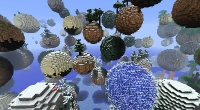 Minecraft — Планетарный генератор мира (SSP / SMP) | Minecraft моды