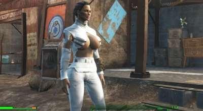 Fallout 4 — Реплейсер брони и одежды для девушек | Fallout 4 моды