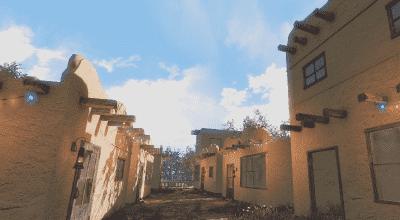 Fallout 4 — Саманные постройки для поселений | Fallout 4 моды