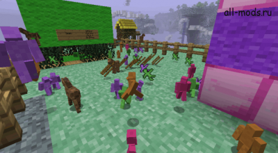 Minecraft — Clay Soldier 3.0.0-alpha.1 (Маленькие солдатики) [клиент / сервер] для 1.7.10 — 1.10.2 | Minecraft моды