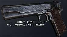 Fallout NV — Colt 1911 | Fallout New Vegas моды