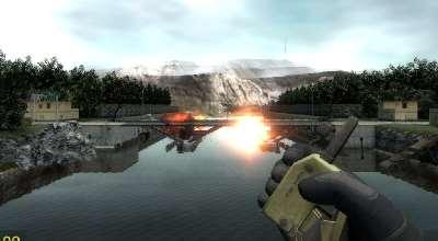 Garry's Mod 13  — Карта «FS_Bridge» Разрушаемая