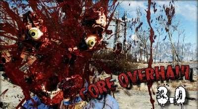 Fallout 4 — Улучшенное расчленение / Gore Overhaul 3.0 -Reload- | Fallout 4 моды