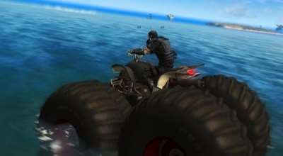 Just Cause 2 — Monster ATV | Just Cause 2 моды