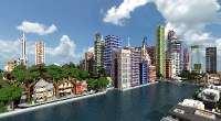 Minecraft — Карта World of Keralis / Мегаполис | Minecraft моды