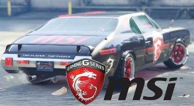 GTA 5 — Тюнинг MSI (MSI — Stallion Dragon Edition)   GTA 5 моды