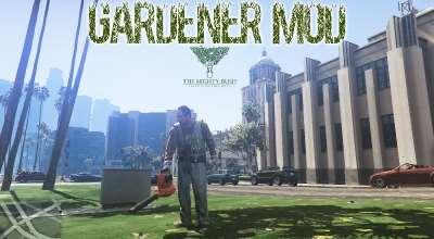 GTA 5 — Садовник (Gardener Mod) | GTA 5 моды