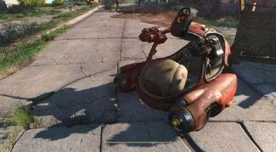 Fallout 4 — Мини автобот | Fallout 4 моды