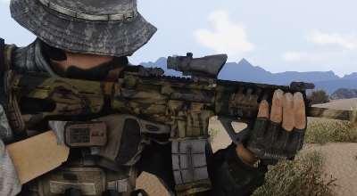 Fallout NV — Штурмовая винтовка P416 | Fallout New Vegas моды