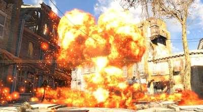 Fallout 4 — Впечатляющий звук взрыва ядерного оружия | Fallout 4 моды