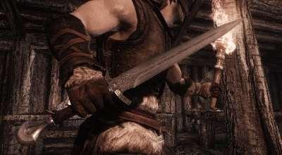 Skyrim — 4к реплейсер Имперского меча | Skyrim моды