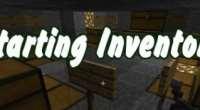 Minecraft — Настройка стартового инвентаря / Starting Inventory | Minecraft моды