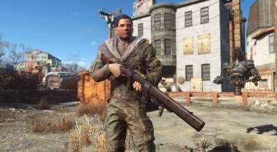 Fallout 4 — Дробовик из трубы | Fallout 4 моды