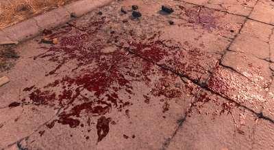 Fallout 4 — Улучшенные текстуры крови / Enhanced Blood Textures | Fallout 4 моды