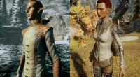 DA: Inquisition — Ретекстур наряда Dalish Elf Skyhold   Dragon Age моды