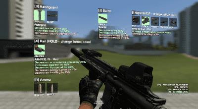 Garrys mod — Штурмовая винтовка HK416C [CW.2.0] | Garrys mod моды
