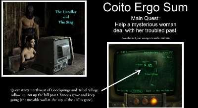 Fallout NV — Coito Ergo Sum (3.0.2) (18+) | Fallout New Vegas моды