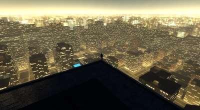 GoldenCity — большая карта города | Garrys mod моды
